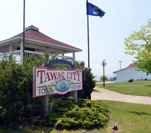 Tawas City, MI - Town Square