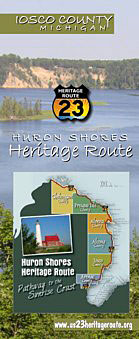 Tawas City, MI Heritage Route Brochure