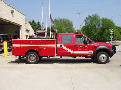 Tawas City, MI Rescue Fire